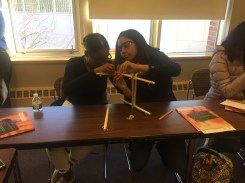 Students were introduced to the cytoskeleton and how it allows the cell to sense and respond to mechanical cues from their environment.