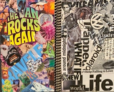 These sketchbook covers will be the inspiration for the work inside!