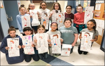 Based on STEM investigations through Grade 5 Project Lead The Way curriculum, students created models to show how the body fights invasion from germs. Students began to look at both nonspecific defenses including skin, cilia and mucus as well as specific defenses including white blood cells.