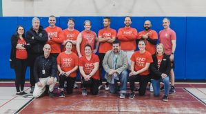 Congratulations to the Pierce staff who once again beat the students in the annual Staff vs. Student basketball game!