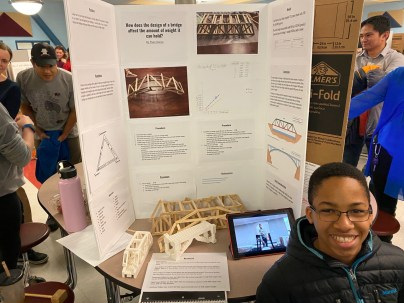 Just a sampling of some terrific projects at the STEM Fair!