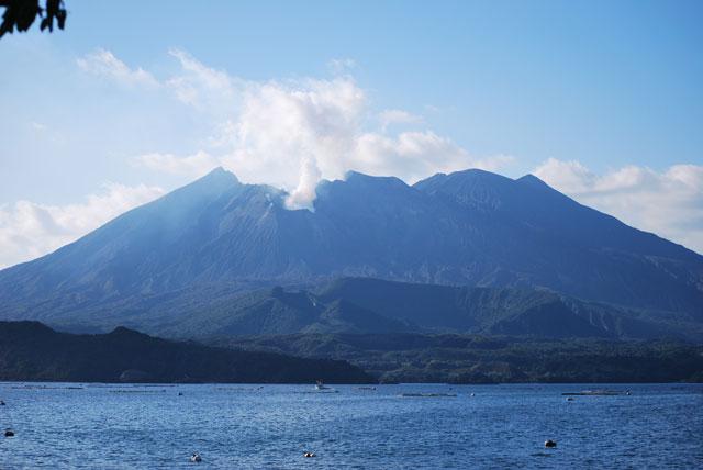 鹿児島県の活火山桜島
