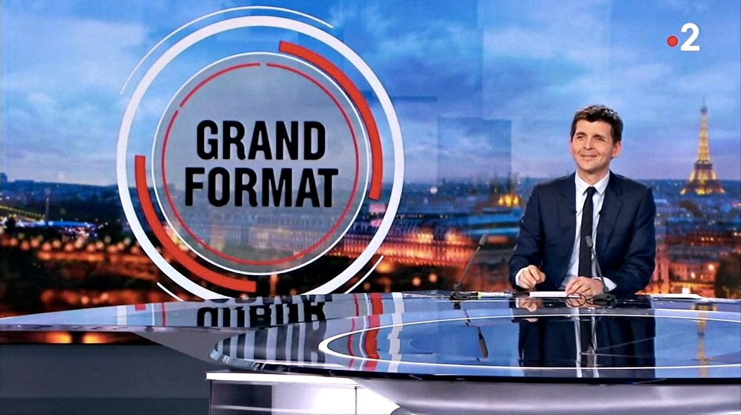 Ecle de Mime au JT - Grand Format du Journal Télévisé de France2