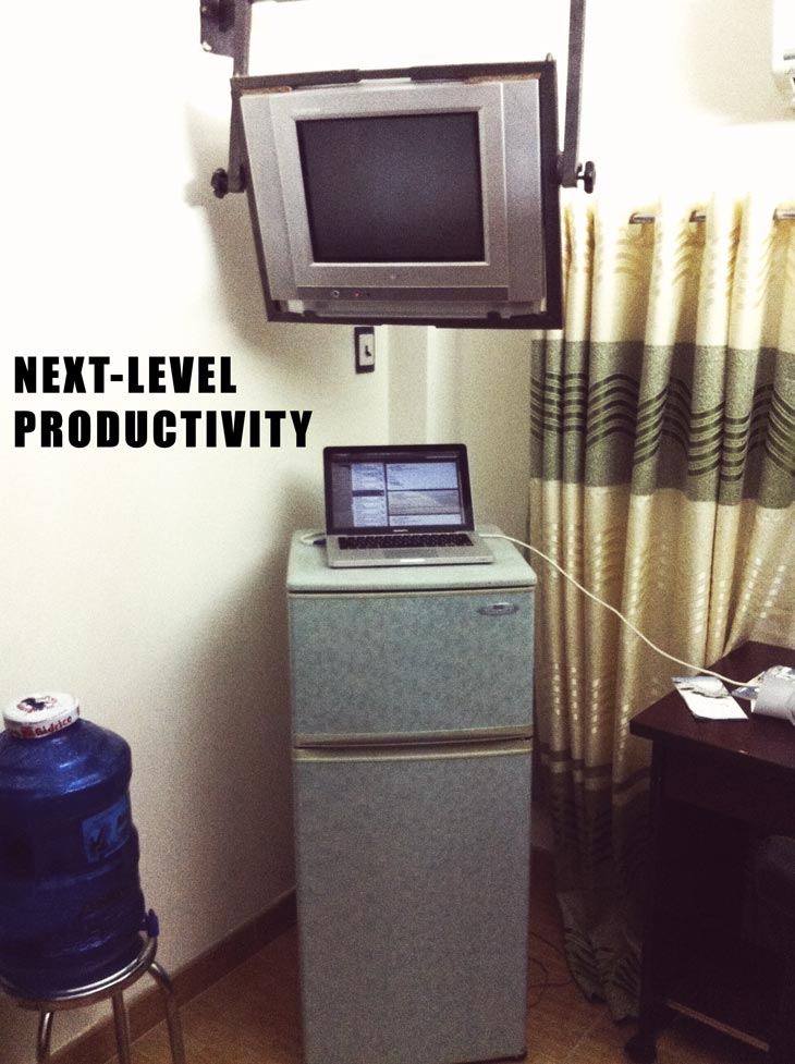 Next Level Productivity Cave