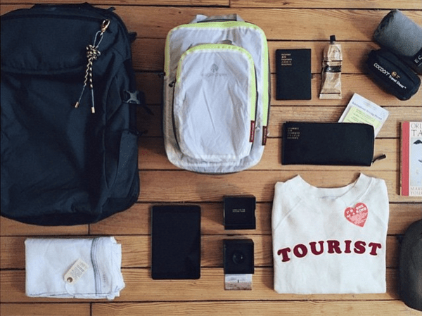 Brittany Cohn's Minaal Carry-on Backpack Ready for a Trip to India