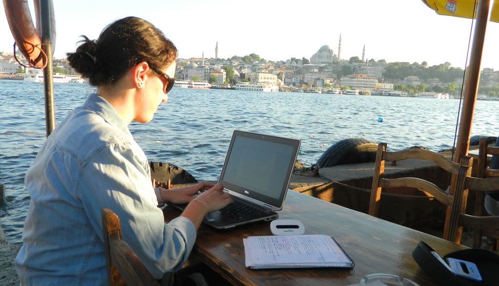 Working with Alldaywifi by the Bosporus