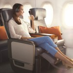 How to sleep on a plane Singapore Airlines Economy Plus