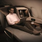 How to sleep on a plane Singapore Airlines Business Class