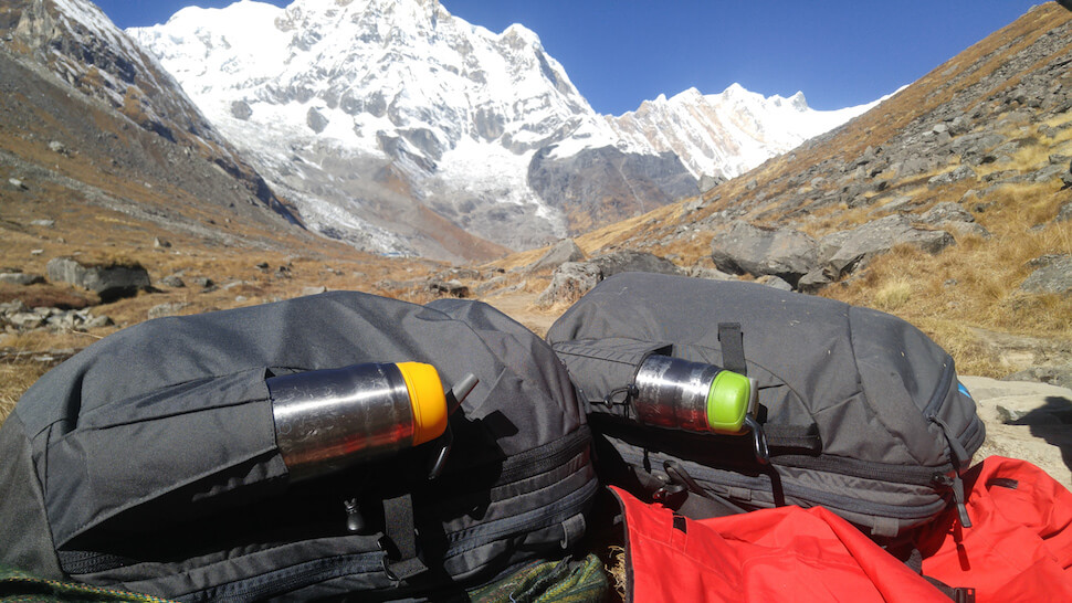 The Ticket To Travel Danica and Nathan Minaal Carry-on 2.0s Himalayas