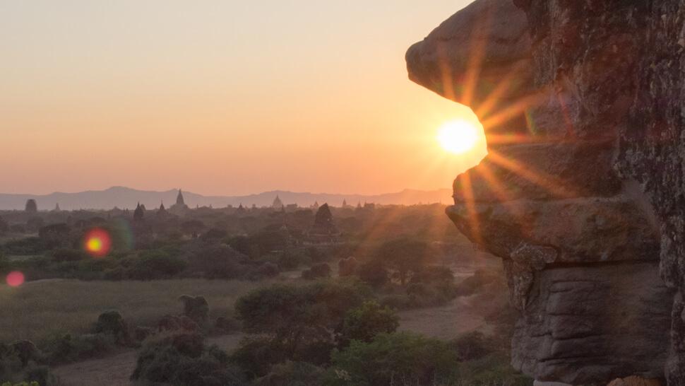 The Ticket To Travel Sunrise Bagan Myanmar