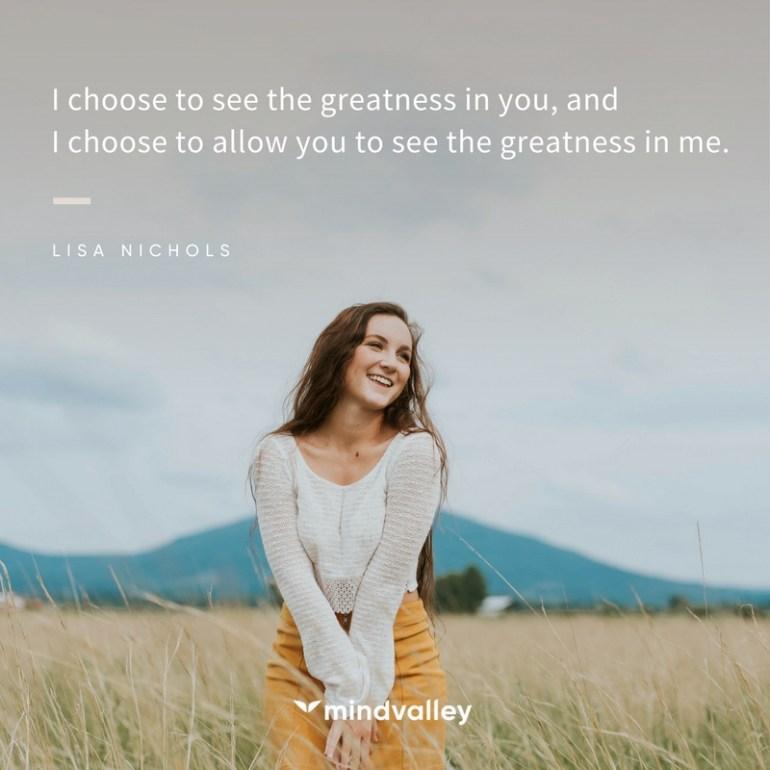 Lisa Nichols - embrace greatness