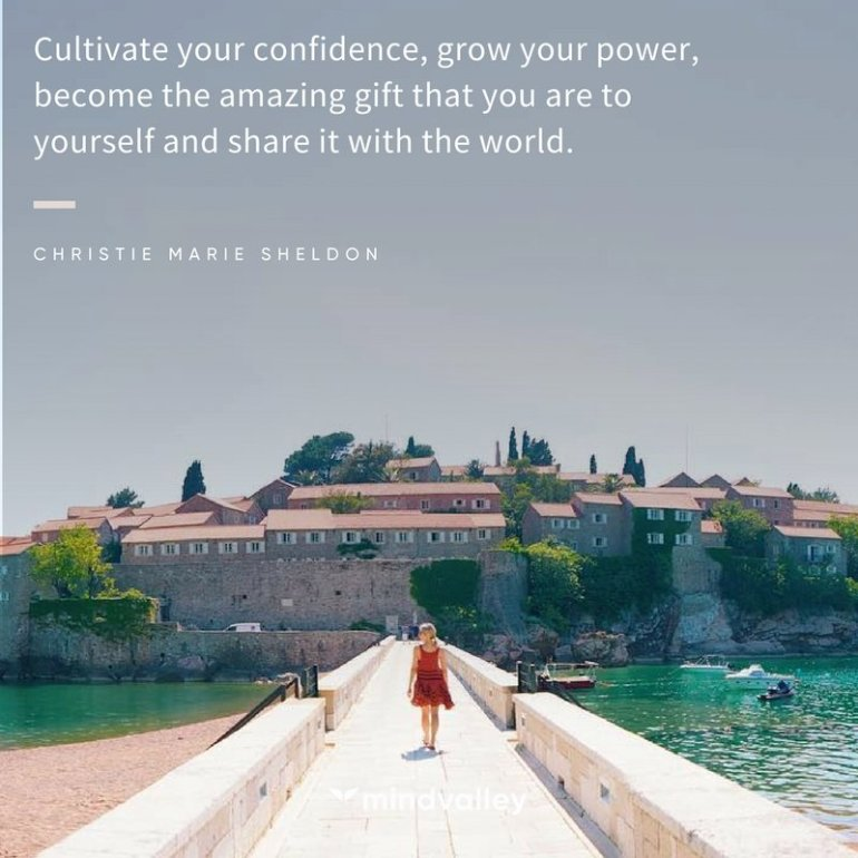 Christie Marie manifesting quote