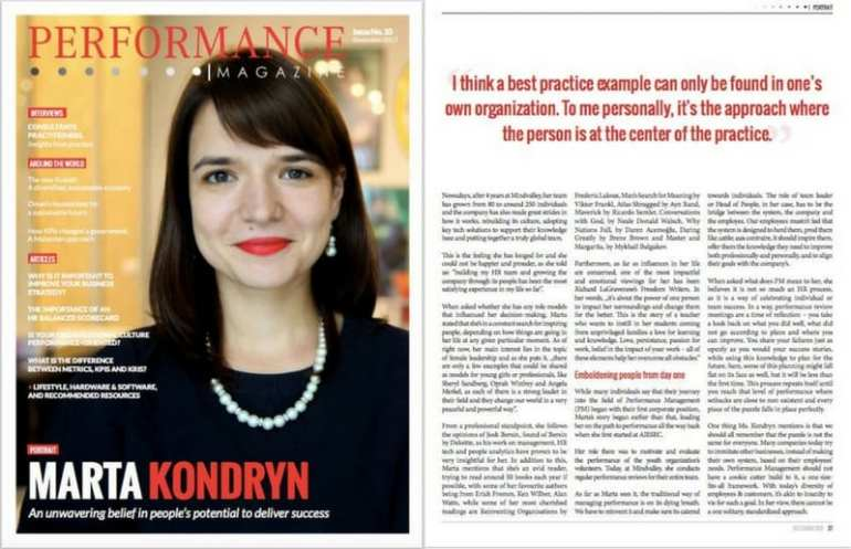 Marta Kondryn, Head of People at Mindvalley