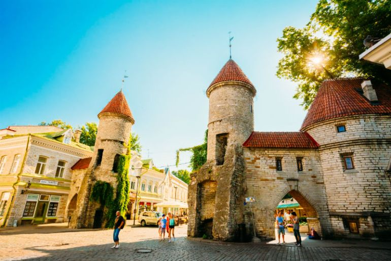 Tallinn old town Mindvalley U