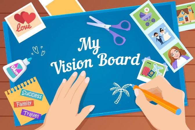 vision board a powerful
