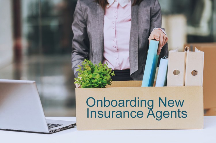 onboarding new insurance agents