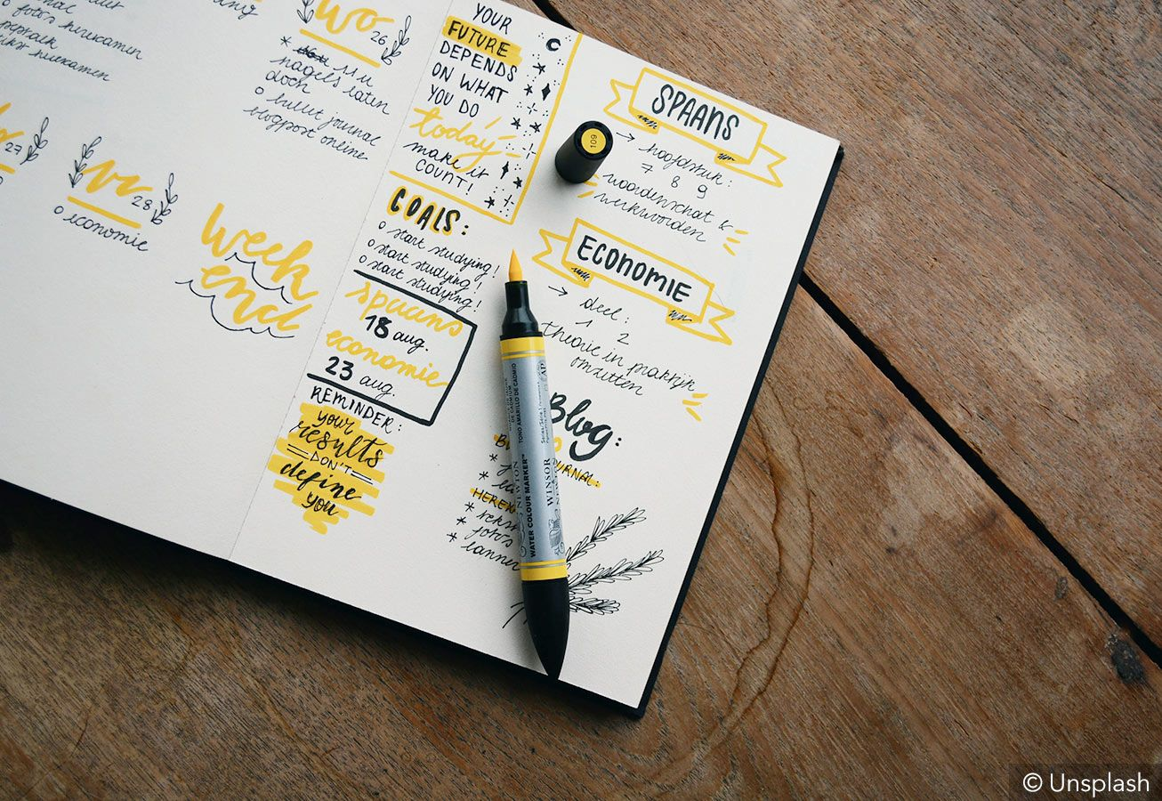 I decided to start my own bullet journal cook book, especially because i have so many recipes from my grandma, my mother and my mother in law, written down on loose pieces of paper. 50 Bullet Journal Ideas To Keep Your Life On Track
