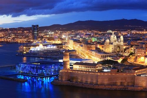 Boulevard Euroméditerranée - nouveau front de mer de Marseille