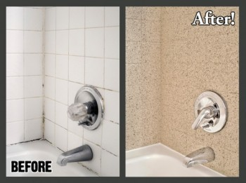 What Can You Do With Ugly Tile Walls Miracle Method Surface Refinishing Blog