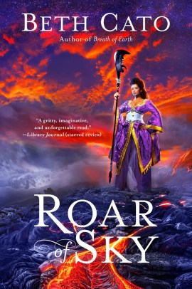Front cover image for Roar of Sky by Beth Cato