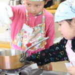 チョコキャラメル お菓子教室