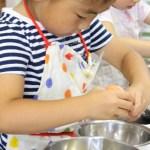ほうじ茶ラテの米粉シフォンケーキ お菓子教室