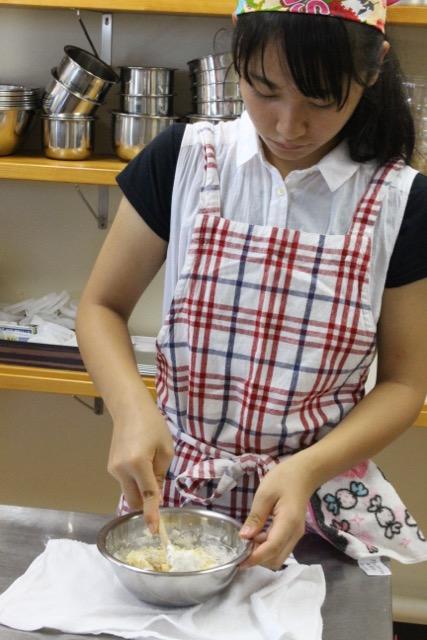栗まんじゅう 子どもお菓子教室2