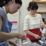 杏のムース お菓子教室