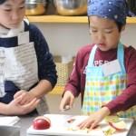 子どもお菓子教室 アップルパイ