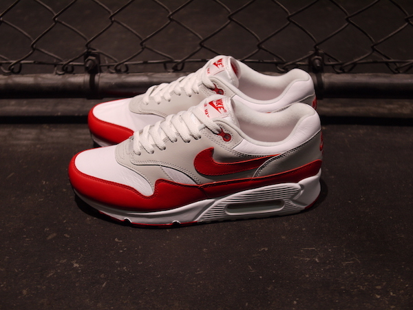 """new product 5f291 9430f ・NIKE   AIR MAX 90 1 """"LIMITED EDITION for NONFUTURE"""". 販売価格 ¥14,000(税抜) 品番  AJ7695-100. Color WHT RED Size 24.0cm〜29.0cm・30.0cm"""