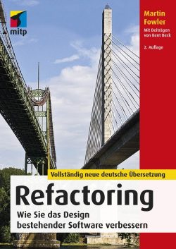Cover Buch Refactoring