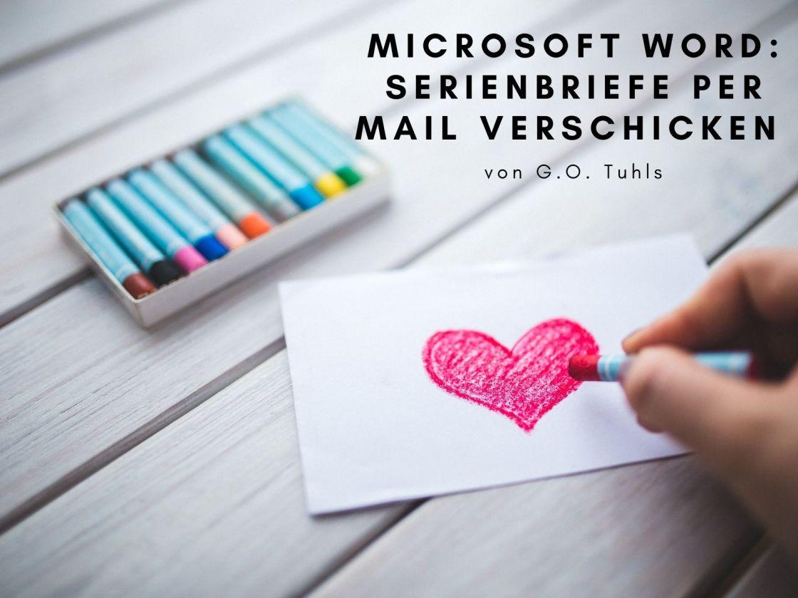 serienmail word