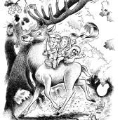 Dyrene i skoven