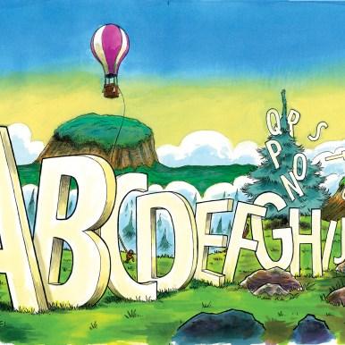 Hr Skægs ABC opslag 06