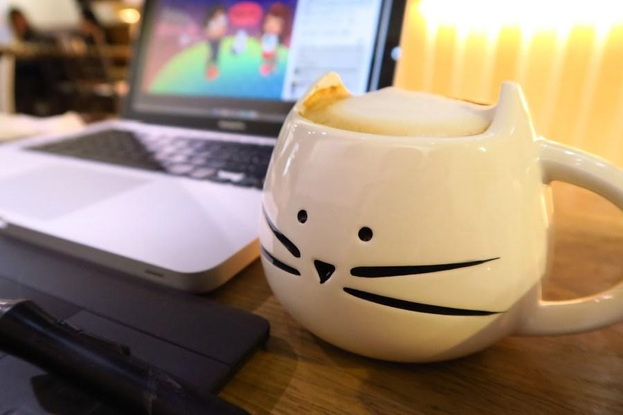 [臺北美食推薦] 喵吧貓咪咖啡廳,捷運松山線下午茶輕食,貓奴必去!