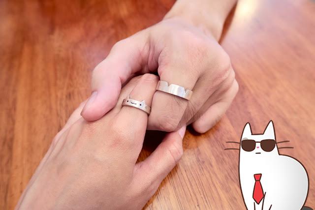 [台北手作銀飾體驗] 簡單敲打出愛的對戒對鍊——Argent 安爵銀飾