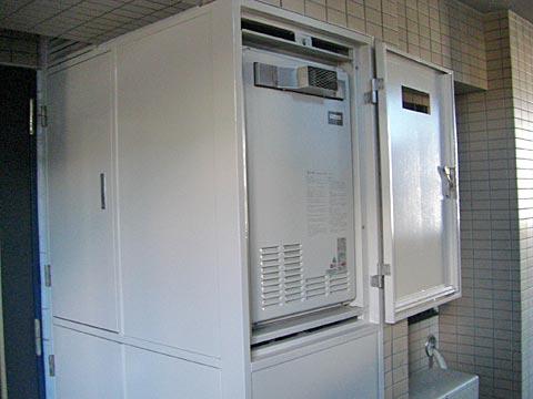 今設置している熱源機