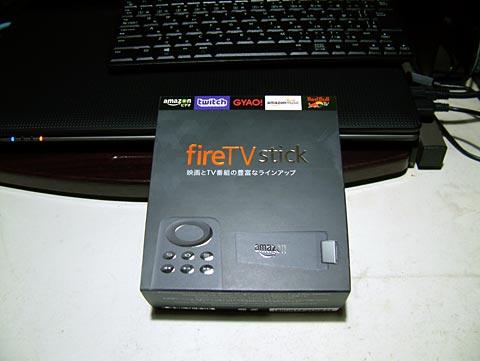 fireTV stick来た~