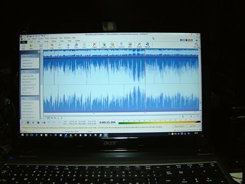 フリーソフトWavePad Sound Editorでも録音できてmp3ファイルにできます!