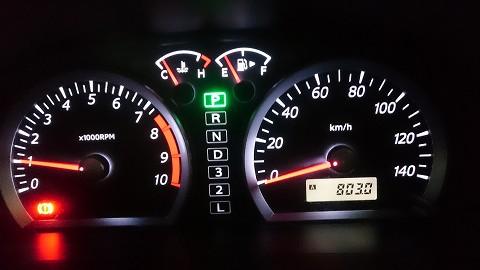 総走行距離は、803.4キロでした。