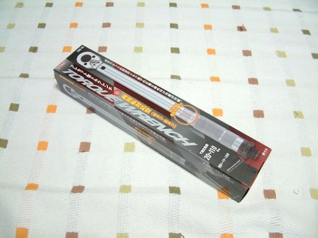 プレセット型トルクレンチ「ETR3-110」ゲットw