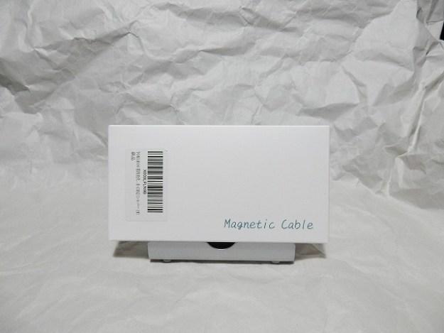 マグネット式充電ケーブルをゲット!