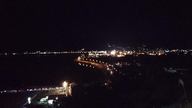 諏訪湖の夜景…イマイチでな写り(汗)
