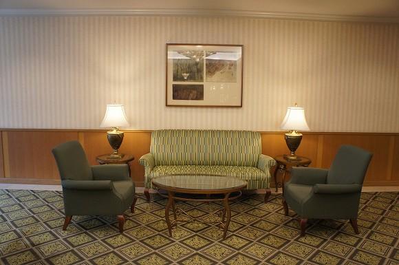 なんだか高級そうなホテルです。