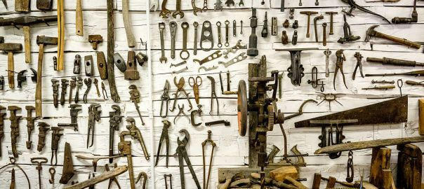 Huge collection of tools