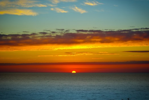 Goderich Sunset by Eric