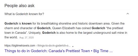 Prettiest Town in Canada