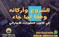 الشروع وأركانه وفقا لما جاء في قانون العقوبات الإماراتي مستشار قانوني محامي دبي محامي ابوظبي