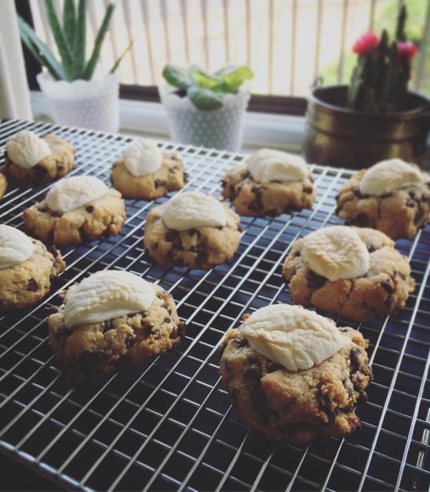 GF Vegan S'mores Cookies