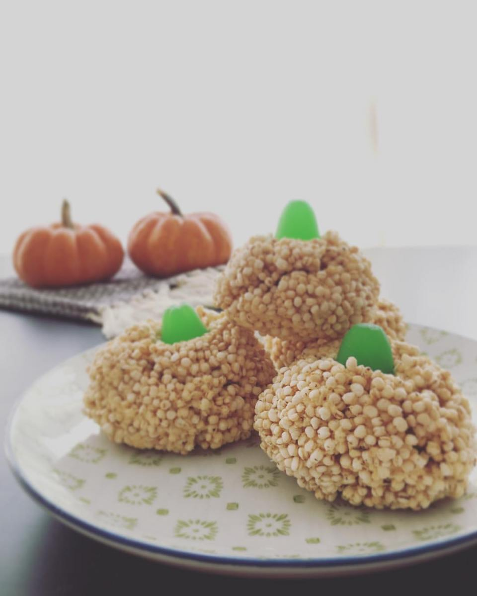 Vegan Pumpkin Krispies